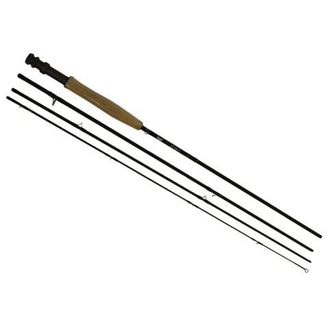 HMG Fly Rod - 8' Length, 4 Piece Rod, 4wt Line Rating, Fky Power, Medium-Fast Action