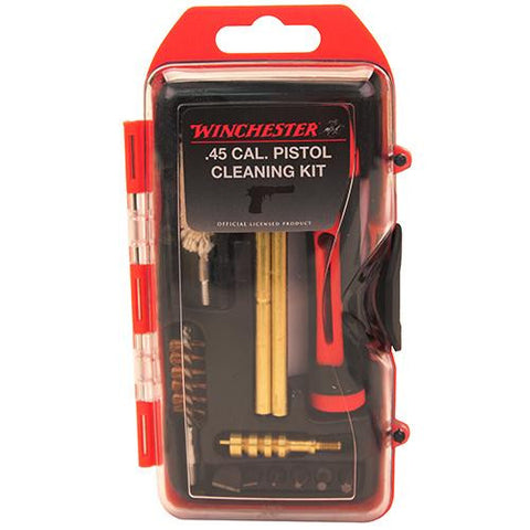Winchestr 14 Piece .44-45 Cal Pistol Cleaning Kit & 6 Piece Driver Bit Set