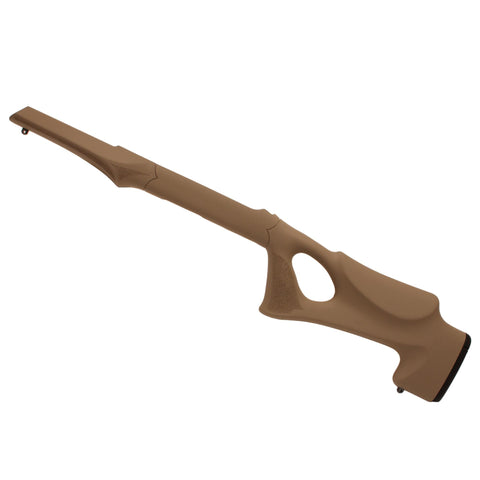 10-22 Overmolded Stock - Tactical Thumbhole, 920 Barrel Channel, Flat Dark Earth