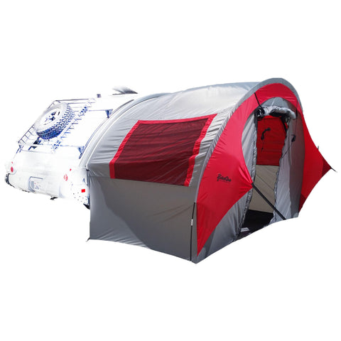 TAB Trailer Side Tent - Silver-Red