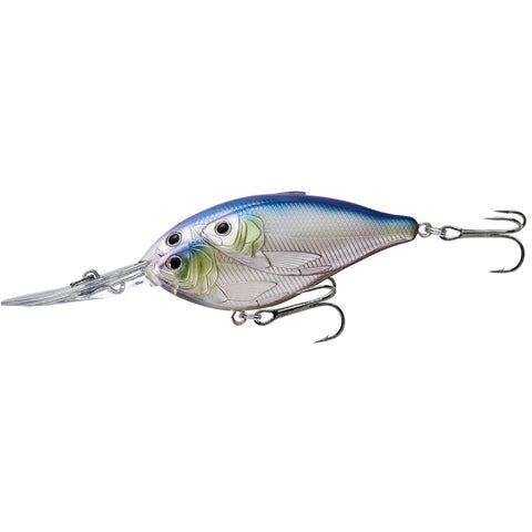 "Threadfin Shad Crankbait - Freshwater, 3 1-2"", #1 Hook, 20' Depth,  Metallic Pearl-Lavender"