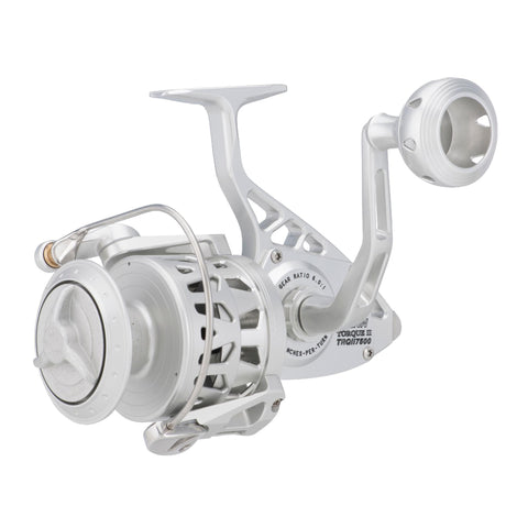 "Torque II Spinning Reel - 5500BLS, 5.5:1 Gear Ratio, 38"" Retrieve Rate, 40 lb Max Drag, Ambidextrous"