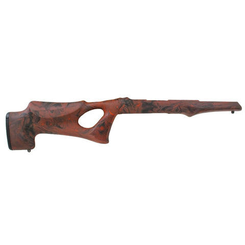 10-22 Overmolded Stock - Tac Thumbhole, .920 Barrel, Red Lava