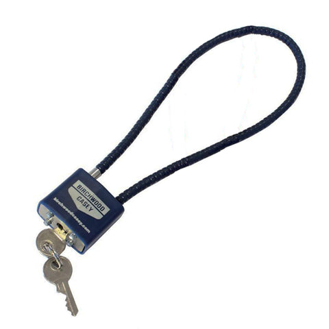SafeLock Cable Lock - Blue