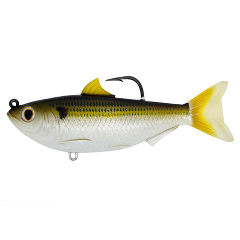 "Sardine - Saltwater, 3 1-2"", 4-0 Hook, Medium-Slow Sinking, Silver-Bronze"
