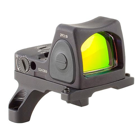 RMR Type 2 Adjustable LED Sight - 6.5 MOA Red Dot Reticle with RM35 ACOG Mount, Black