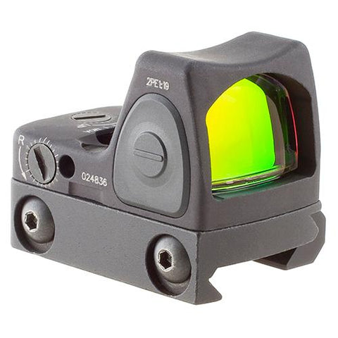 RMR Type 2 Adjustable LED Sight - 1.0 MOA Red Dot Reticle with RM33 Picatinny Rail Mount, Black