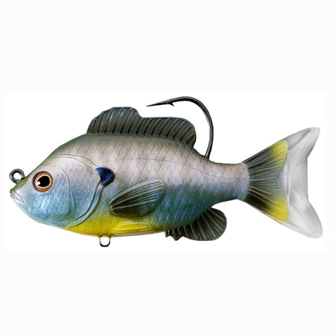 "Sunfish Swimbait - Freshwater, 4 3-8"" Length, 7-8 oz, 1'-8' Depth, Natural Bluegill, Per 1"