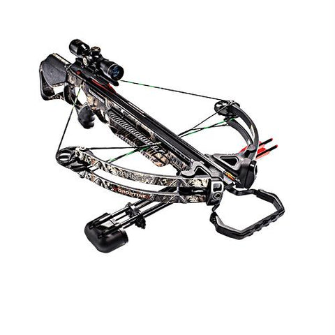 Droptine STR Crossbow Package with 4x32mm Scope, Realtree Edge