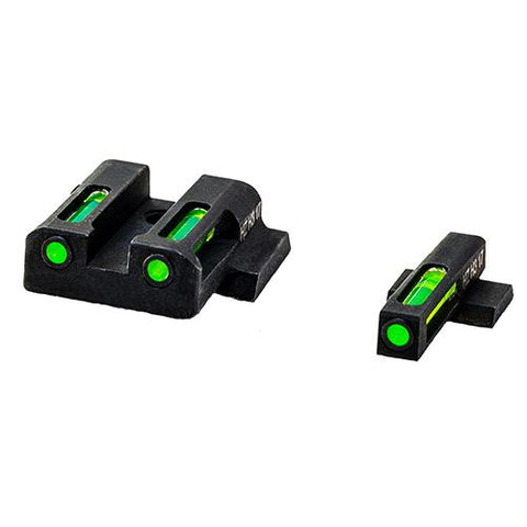 Litewave H3 Tritium-Litepipe - Smith & Wesson M&P, Compact and Full Sight Set