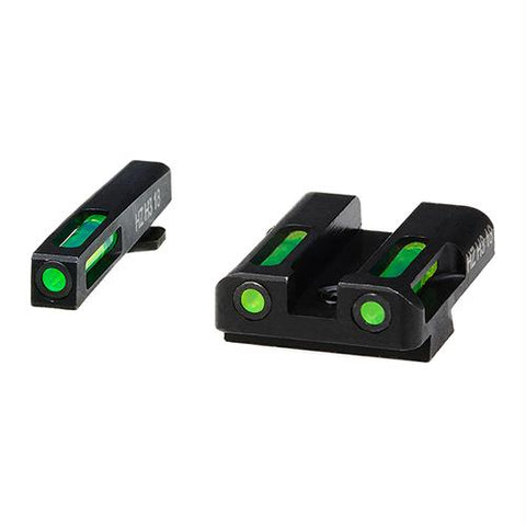 Litewave H3 Tritium-Litepipe - Glock 45 ACP-10mm Sight Set