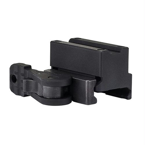 Miniature Rifle Optic (MRO) Mount - Levered Quick Release Full Co-Witness, Matte Black