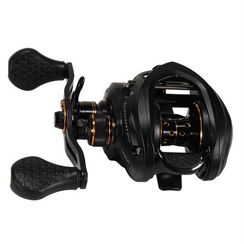 Tournament Pro LFS Baitcasting Reel - 6.8:1 Gear Ratio, 11 Bearings, 20 lb Max Drag, Left Hand