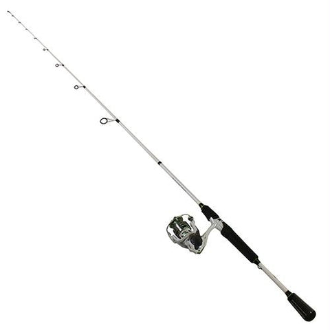 "Mach I Speed Spin Spinning 1 Piece Combo - 6.2:1 Gear Ratio, 30"" Retrieve Rate, 7' Length, Ultra Light Power"