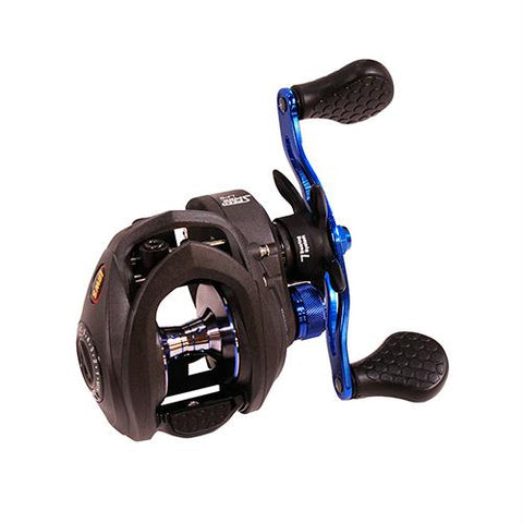 Speed Spool Inshore LFS Baitcasting Reel - 7.5:1 Gear Ratio, 6BB+1RB Bearings, 20 Max Drag, Right Hand