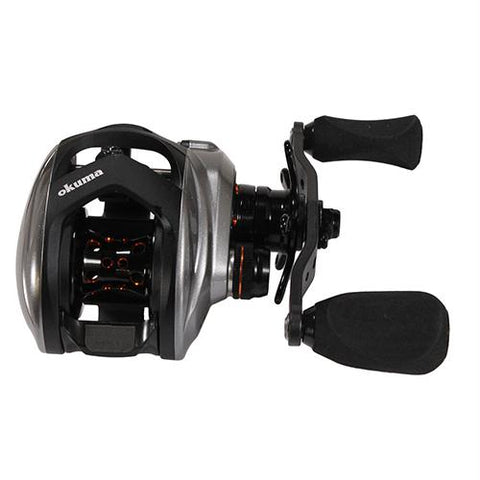 "Helios SX Low Profile Baitcasting Reel - 8.1:1 Gear Ratio, 11 Bearings, 35"" Retrieve Rate, Right Hand"