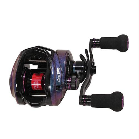 "Revo IKE Low Profile Casting Reel - 8.0:1 Gear Ratio, 11 Bearings, 33"" Retrieve Rate, Right Hand"