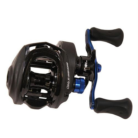 "Revo X Inshore Low Profile Casting Reel - 6.6:1 Gear Ratio, 7 Bearings, 27"" Retrieve Rate. Right Hand"