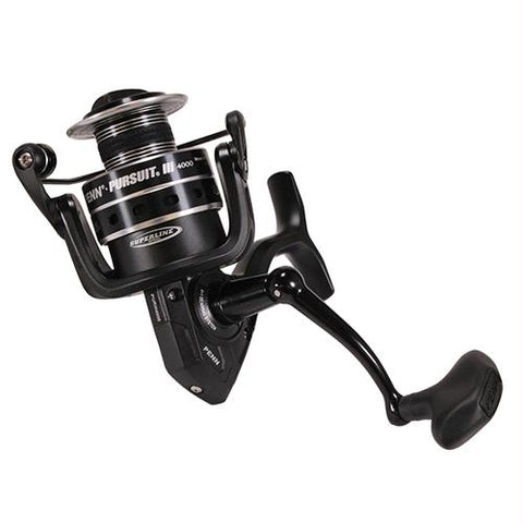 "Pursuit III Spinning Reel - 4000, 6.2:1 Gear Ratio, 5 Bearings, 37"" Retrieve Rate, Ambidextrous"