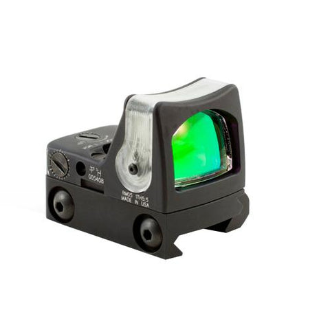 RMR Dual-Illuminated Sight - 9.0 MOA Amber Dot Reticle with RM33 Picatinny Rail Mount, Black