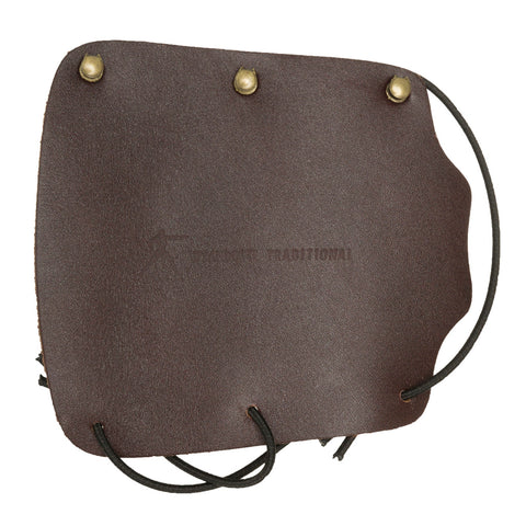 Wyandotte Leather Armguard Brown Hook and Loop 5.5 in.