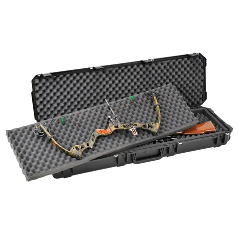 SKB iSeries Double Bow-Rifle Case Black 50 in.