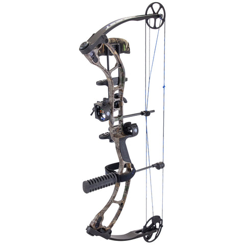 Quest Storm Bow Package Realtree Xtra- Black 23-27 in. 60 lb. RH