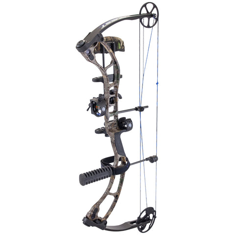 Quest Storm Bow Package Realtree Xtra- Black 23-27 in. 60 lb. LH