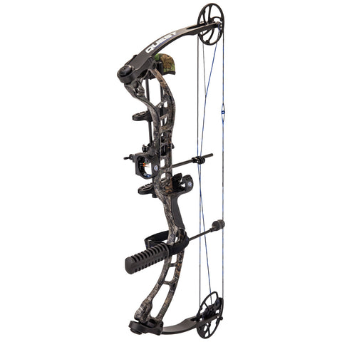 Quest Forge Bow Package Realtree Xtra- Black 26-30 in. 70 lb. LH