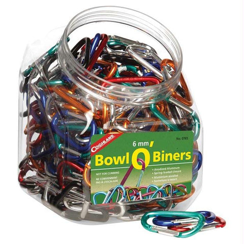 6mm Bowl O-biners (174 Pcs)