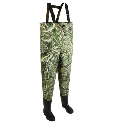 Allen Ridgeway 2Ply Mens Bootfoot Wader-Realtree Max-Size 9