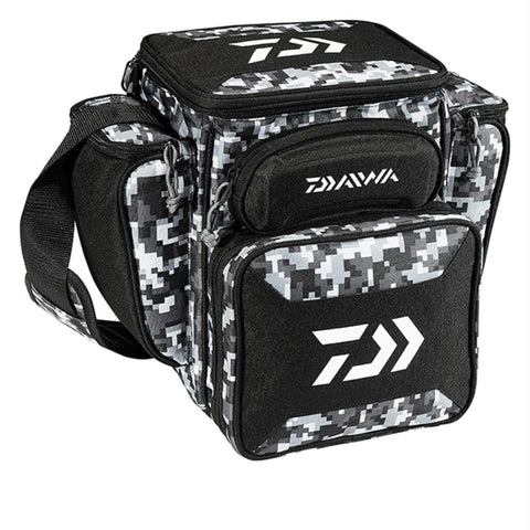"Daiwa D-Vec Tactical Med Soft Sided Tackle Box 9""x13""x14"""