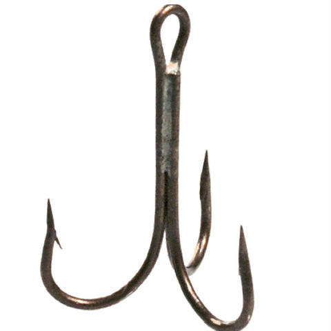 Danielson Bronze Treble Hook Size 4-0 - Pkg of 144
