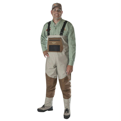 Caddis Men's Deluxe Breathable Stockingfoot Waders - L Stout