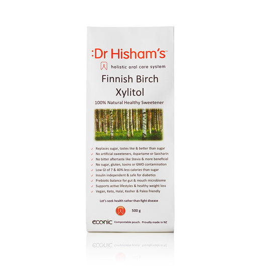 500g Birch Xylitol from Finland - Exclusive to Dr Hisham's in NZ