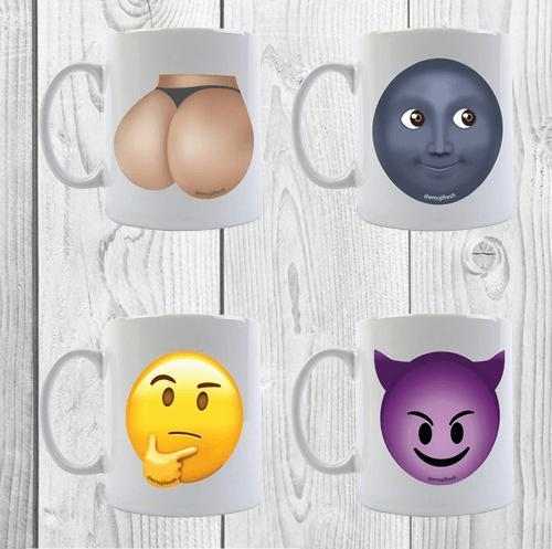 Emoji Ceramic Mugs