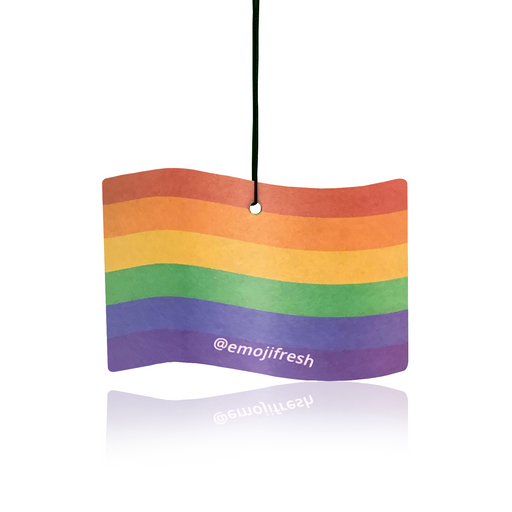 LGBT Emoji Car Air Freshener Multi Pack