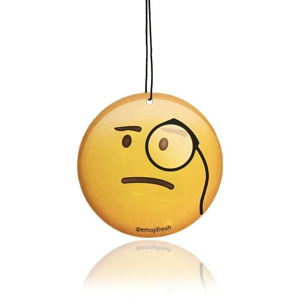 Monocle Emoji Car Air Freshener