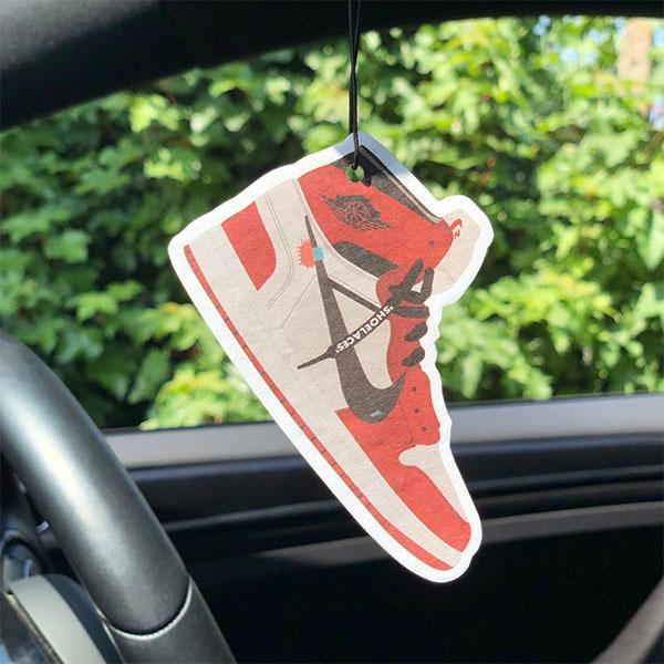Nike Off White Air Force 1 Car Air Freshener