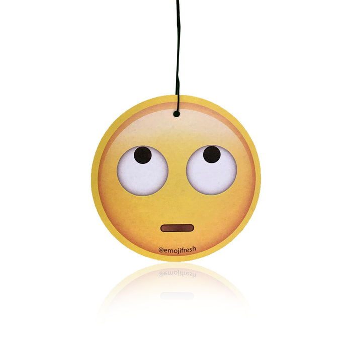 Rolling Eyes Emoji Car Air Freshener