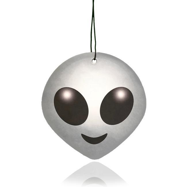 Alien Emoji Car Air Freshener-EmojiFresh