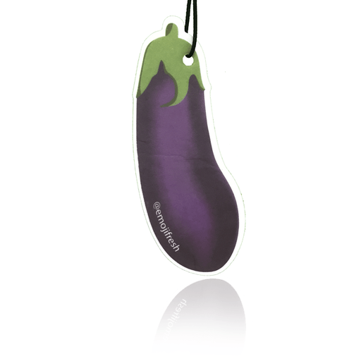 Aubergine Emoji Car Air Freshener-EmojiFresh