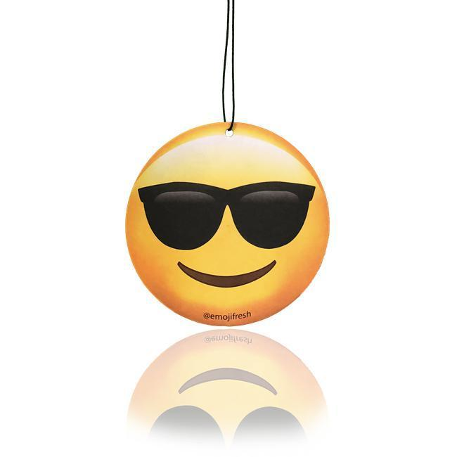 Cool Dude Emoji Car Air Freshener-EmojiFresh