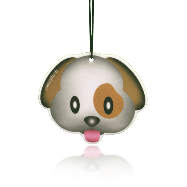 Dog Emoji Car Air Freshener-EmojiFresh
