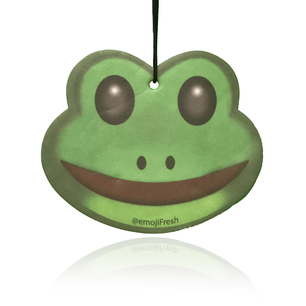 Frog Emoji Car Air Freshener-EmojiFresh