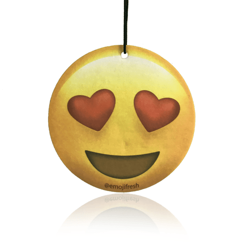 Heart Eyes Emoji Car Air Freshener-EmojiFresh