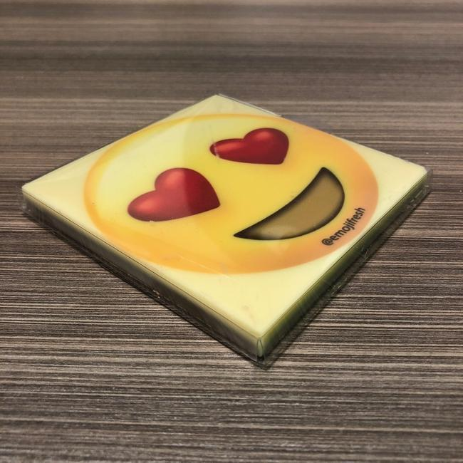 Hearts Emoji Personalised Chocolate-EmojiFresh