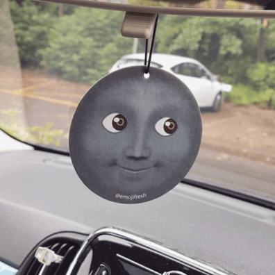 Moon Emoji Car Air Freshener-EmojiFresh