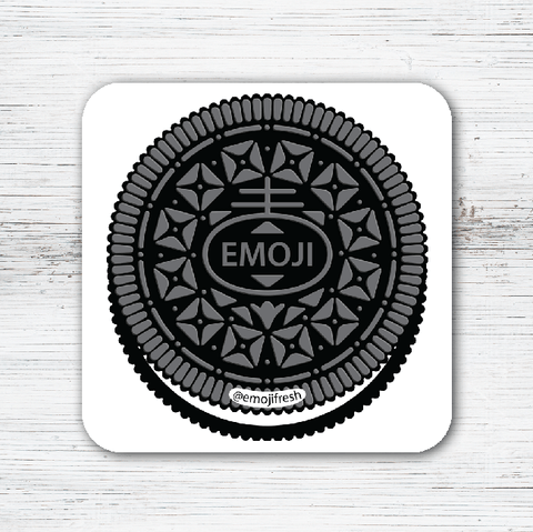 Yeezy Emoji Tea Coffee Coaster