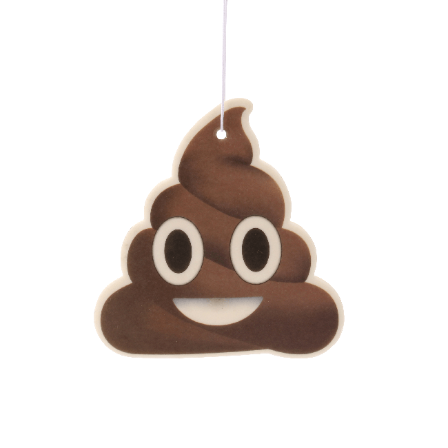 Poop Emoji Car Air Freshener x2 With Retail Packaging-EmojiFresh